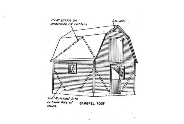 Barn, Stable and Greenhouse Plans