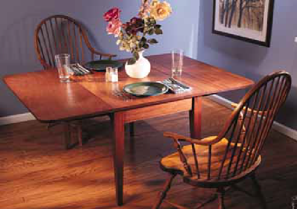 How to Build a Drop-Leaf Table